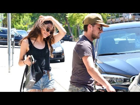 Josh Hutcherson Is The Perfect Gentleman While Shopping With Girlfriend Claudia Traisac