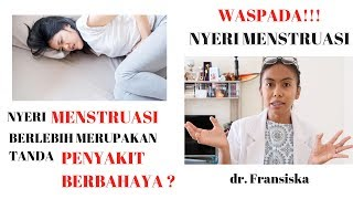 Tidak sedikit wanita yang mengalami dismenore yaitu nyeri atau kram perut dibagian bawah saat menstr.