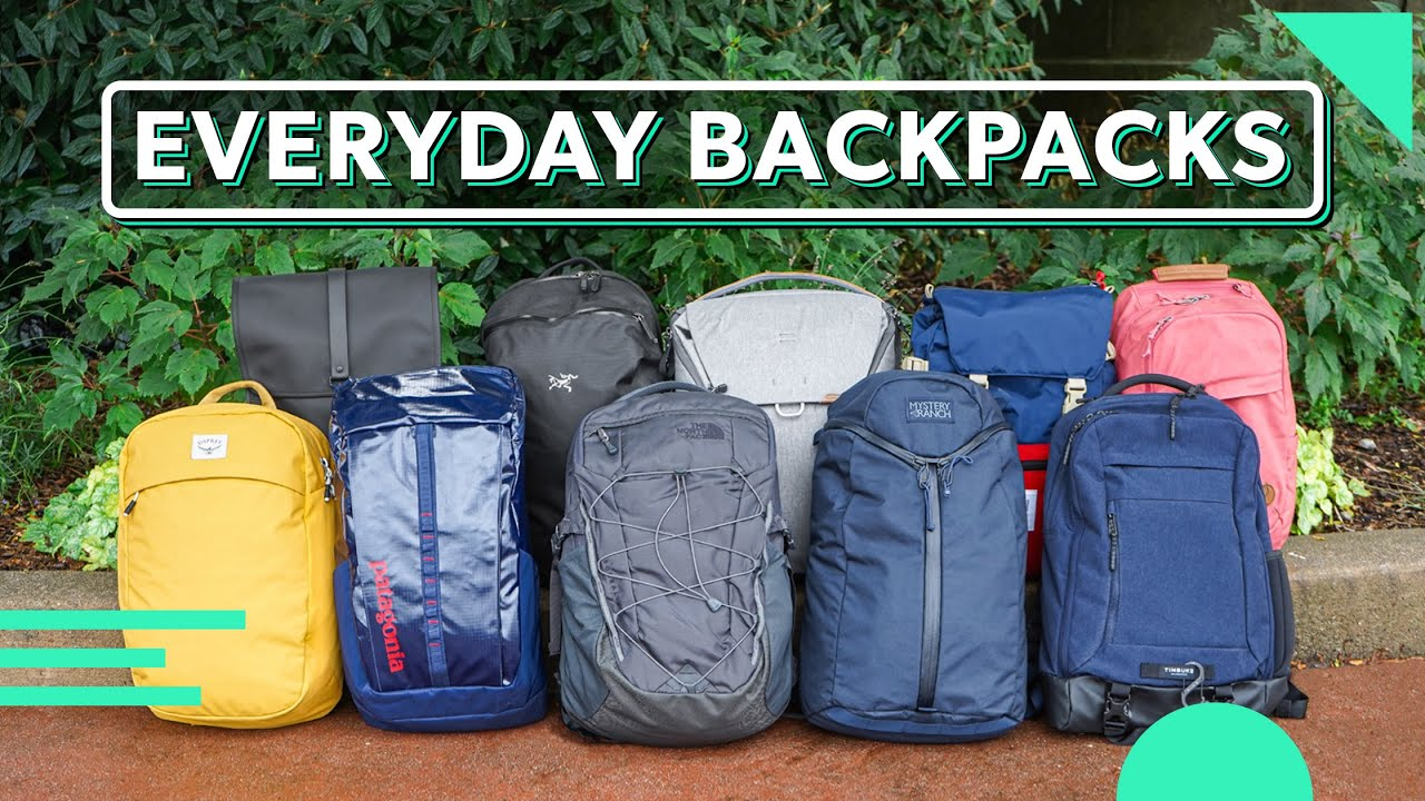 10 Awesome Everyday Carry Backpacks