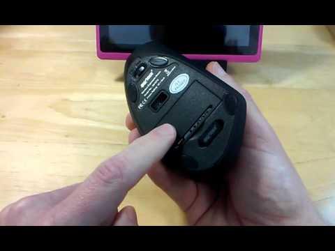 8a6cb7e1838 Sharkk Wireless 2.4ghz vertical ergonomic mouse - YouTube