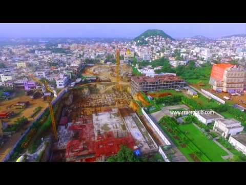 "Aerial photography for ""THE CELEST"" by Terra. Vizag's First FDI Real Estate Project"