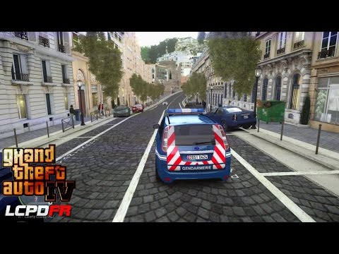 GRAND THEFT AUTO IV - LCPDFR - 1.0D - EPiSODE 31 - GENDARMERIE NATIONALE PATROUILLE - FRENCH RIVIERA