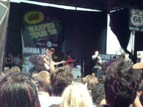 Norma Jean Warped Tour 2008