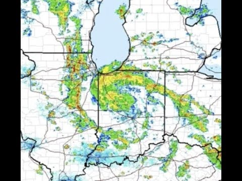"Breaking ""Tropical Cyclone In Indiana May Hit Lake Michigan Tonight"""