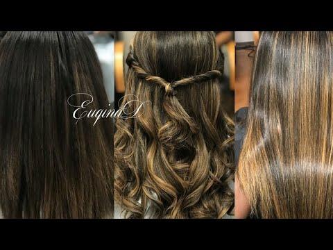 Euqinad Natural Hair Highlights Peekaboo Balayage Curly