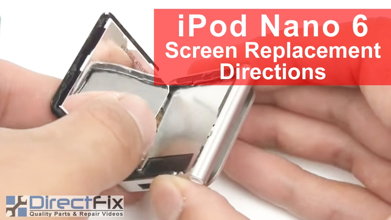 How to get ipod nano 6th gen out of recovery mode