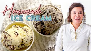 AMAZING Homemade Ice Cream Recipe  May Never Go Back to Store-Bought!!  Southern Living From Home