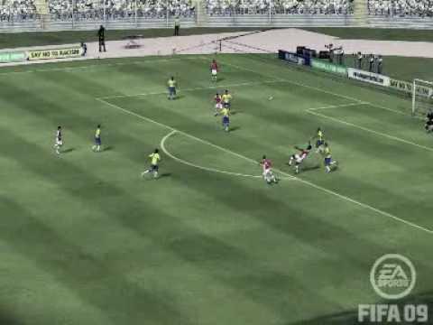FIFA 09 - Unbeliveable Bicycle Kick