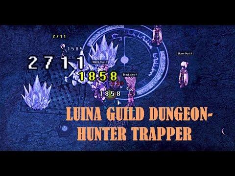 Hunter Trapper at Guild Dungeon?! Luina/Alde map Ragnarok Online Philippines