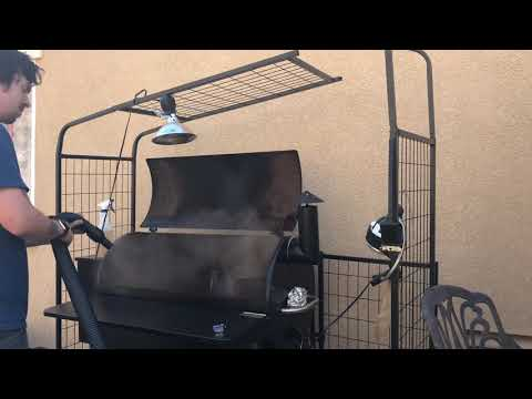 How NOT to clean out your Traeger