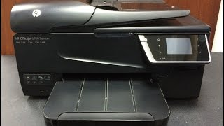 How to replace the printhead of HP OfficeJet 6700 Premium Printer