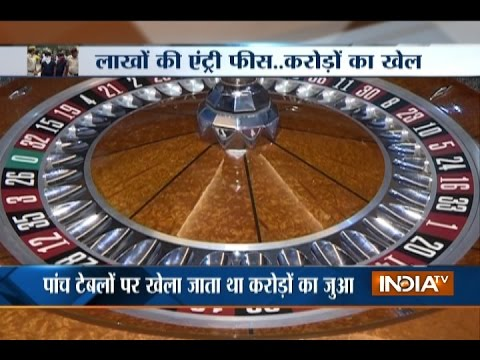 South Delhi: 36 People Arrested after Police Busted illegal Casino in Neb Sarai Area