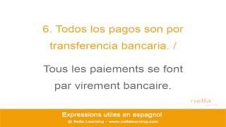 Cours d ¦espagnol en ligne   Mots et expressions ut