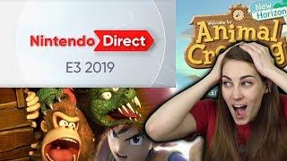 Nintendo E3 2019 Direct -- My Favorite Moments!
