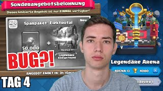 MIESER BUG! 😕 4000 TROPHÄEN PUSH! 🏃‍♂️ | Speedrun Duell Tag 4 | Clash Royale deutsch