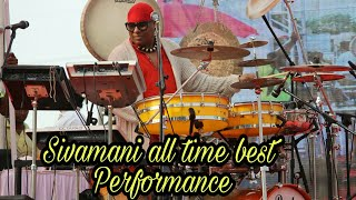 Mesmerising Performance by Sivamani || Drums sivamani Sir Super Performance Part 1 || Shvamani drum
