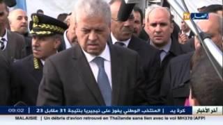 عبد المالك سلال في زيارة عمل إلى ولاية الأغواط .. و عدة محطات في أجندته