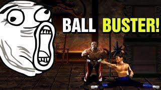 Busting Balls In Mortal Kombat 2 Online