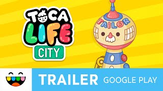 New Locations: The Tailor & The Theatre | Toca Life: City | Google Play | @TocaBoca