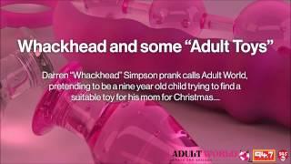 Whackhead Simpson prank calls Adult World