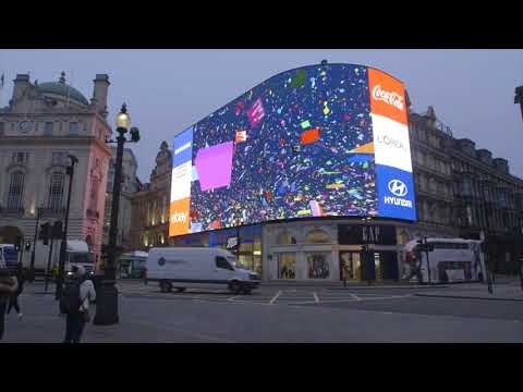 #PiccadillyOn - Piccadilly lights switch on LIVE