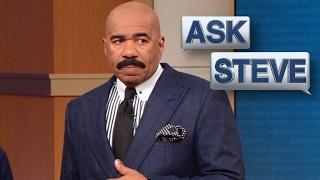 Ask steve: that's fat pimp blue    steve harvey