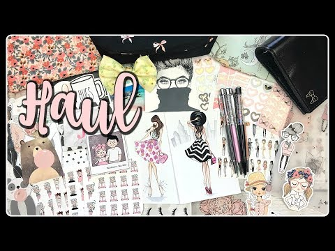 Haul! New Planner and Planner Supplies
