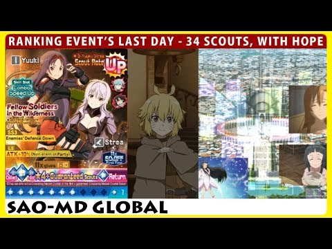 Ranking Event's Last Day - Fellow Soldiers 34 Scouts, With Hope (SAOMD Memory Defrag)