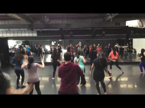 Bollywood Dance Marathon - Folk dance to Indipop music (Aika Dajiba)