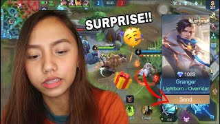 ML SKIN GIFT FOR MY BOYFRIEND! YIIEE 🤣 + NAGLARO KAMI HAHAHAHA LT TO