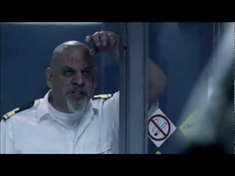 """Velizar Binev as Captain in """"Super Tanker"""""""
