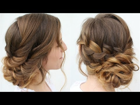 Romantic Updo Hairstyle | Prom Hairstyles | Braidsandstyles12
