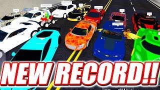 *20 SUPERCARS* BIGGEST RACE IN ROBLOX VEHICLE SIMULATOR HISTORY!!