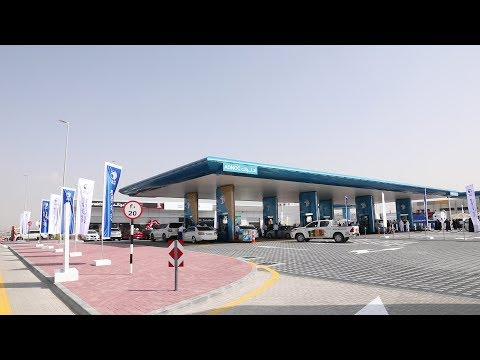 Look Inside: ADNOC's first service station in Dubai
