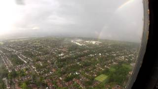 Journey from RAF Northolt to River Thames over NW London