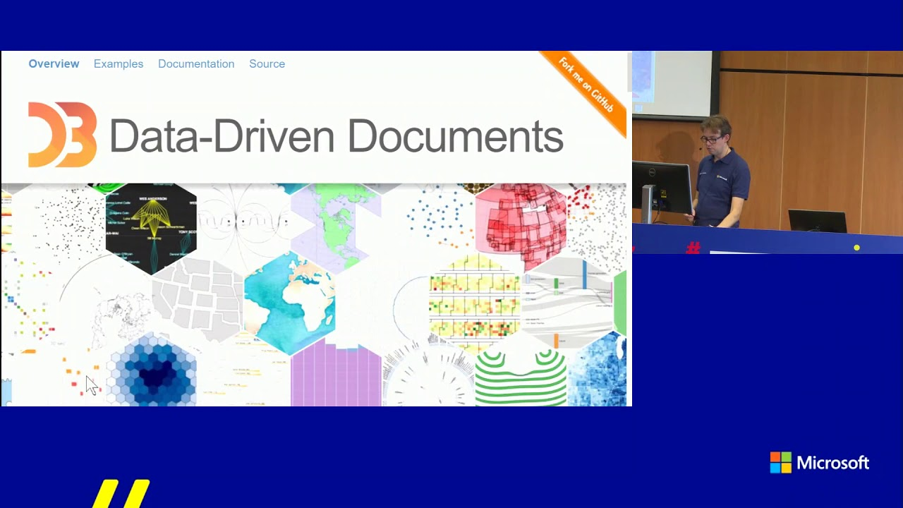 TechDays 2017 - Arthur Graus - Develop Power BI Custom Visuals with D3 js +  TypeScript