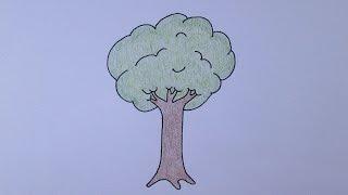 Como desenhar uma árvore