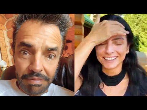 Eugenio Derbez molesta a su hija Aislinn Derbez y la exhibe en fachas