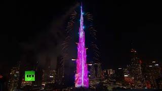 UAE 2021 | Fireworks at the Burj Khalifa