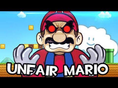 Unfair Mario - Play Free Online Games