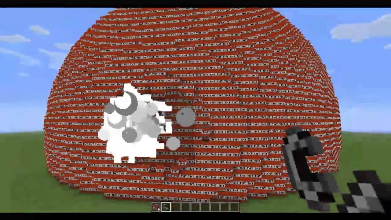 la mayor explosi n de minecraft con tnt youtube. Black Bedroom Furniture Sets. Home Design Ideas