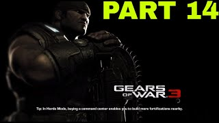 Gears Of War 3 Part 14 The Cable Car - Gameplay