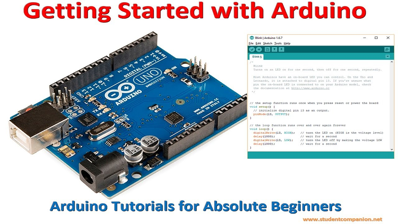 Arduino UNO with free programming USB cable | StudentCompanion
