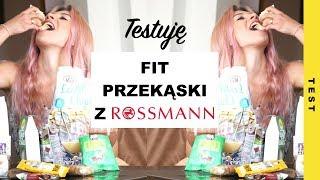 TEST FIT PRZEKĄSEK Z Rossmanna | Fit Słodycze, Słone Przekąski i Koktajle