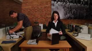 видео брошюровщики документов на пластиковую и металлическую