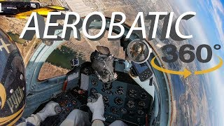 The best 360 degree virtual reality (VR) aerobatics video 4K 2019. Лучшее видео 360 в 4К 2019.