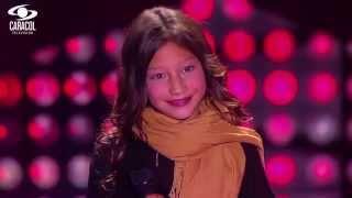 Mya cantó 'El pescador' de José Barros - LVK Colombia- Audiciones a ciegas - T1