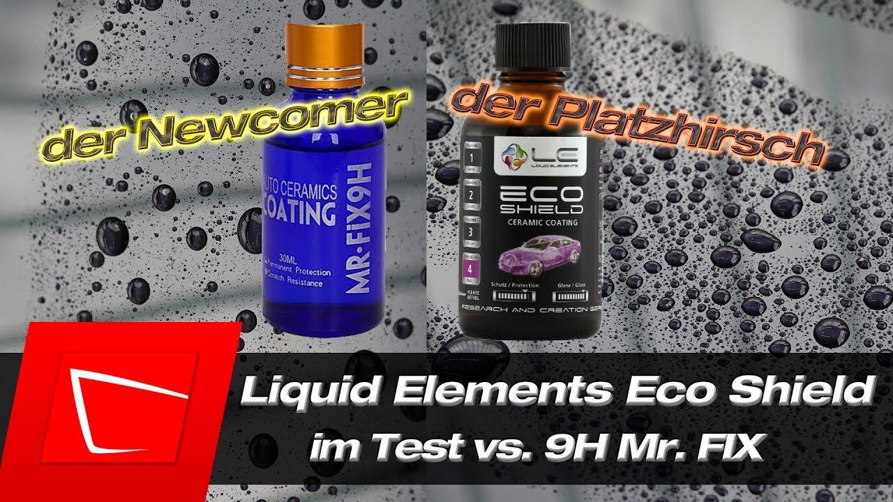 liquid elements eco shield und 9hmr fix richtig auftragen. Black Bedroom Furniture Sets. Home Design Ideas