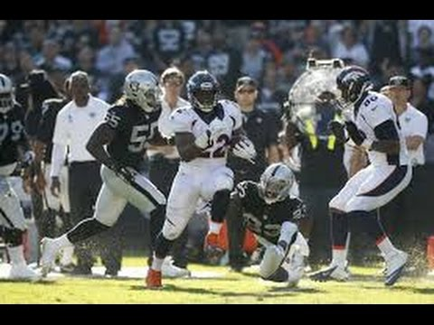2014 NFL WK10: Broncos @ Raiders: DENVER DOES WHAT IT USUALLY DOES TO OAKLAND.... WIN BIG