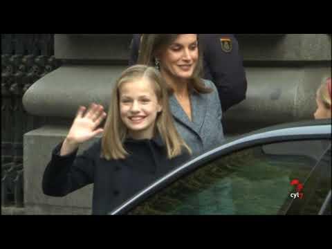 Felipe VI, Juan Carlos I y Leonor juntos para celebrar el 40 aniversario de la Constitución